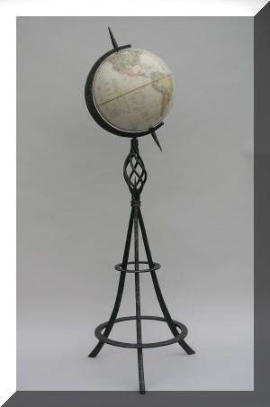 Wrought Iron Globe