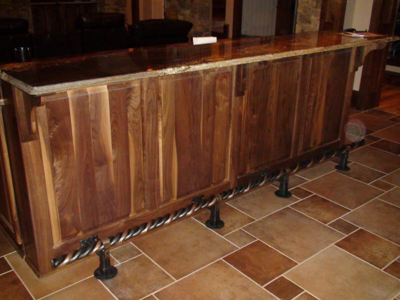 Elegant Bar Rail Foot Rest